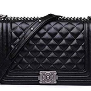 Handbags - Quilted Leather Handbag